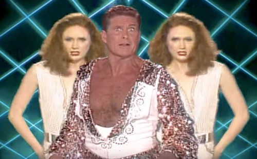 DAVID HASSELHOFF'LU GUARDIANS OF THE GALAXY MÜZİK VİDEOSU