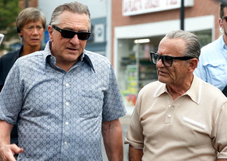 THE IRISHMAN'DEN JOE PESCI VE ROBERT DE NIRO'LU İLK GÖRSELLER