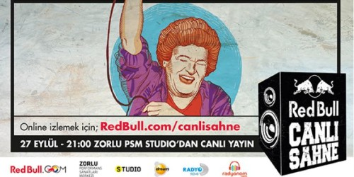 RED BULL CANLI SAHNE HIZ KESMİYOR: SELDA BAĞCAN & BOOM PAM