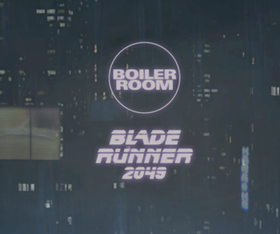 BLADE RUNNER'IN BOILER ROOM'A ÖZEL GECESİ YOUTUBE'DA