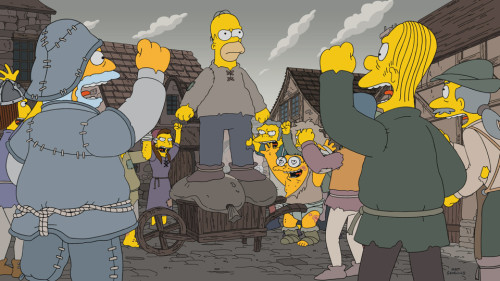 THE SIMPSONS'TAN GAME OF THRONES ESİNTİLİ YENİ BÖLÜM