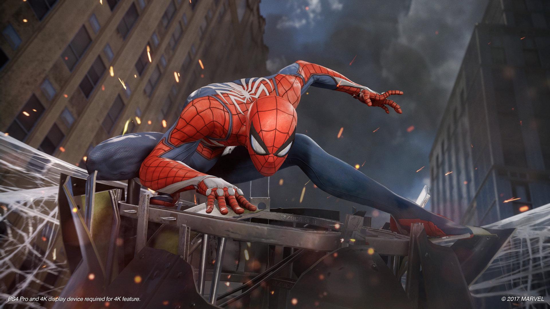SONY'DEN PS4 İÇİN YENİ SPIDER-MAN FRAGMANI