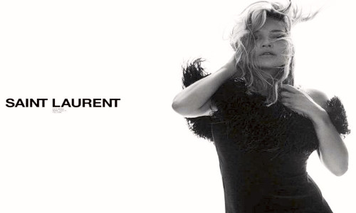 SAINT LAURENT'IN YENİ YÜZÜ: KATE MOSS