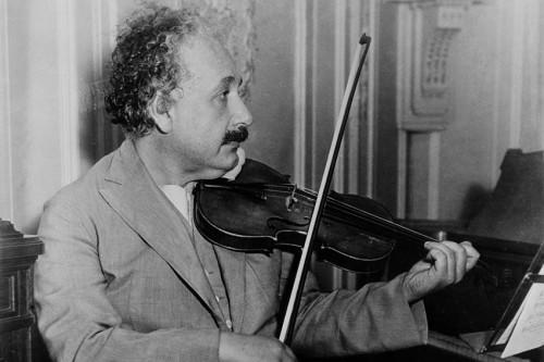 ALBERT EINSTEIN'IN PLAK KOLEKSİYONU SERGİLENİYOR