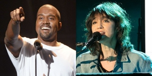 CHARLOTTE GAINSBOURG'DAN KANYE WEST COVER'I