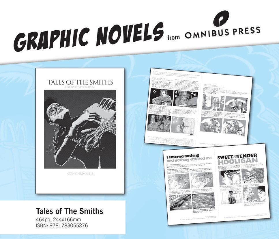 THE SMITHS HAKKINDA 464 SAYFALIK ÇİZGİ ROMAN GELİYOR