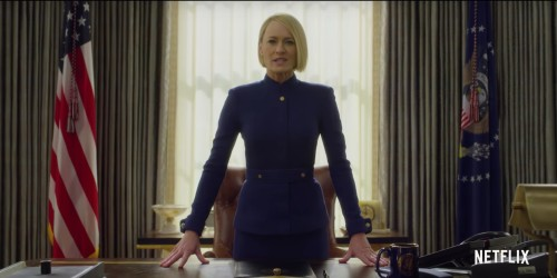 HOUSE OF CARDS'IN FİNAL SEZONUNDAN İLK TEASER