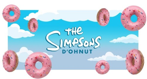 KRISPY KREME'DEN THE SIMPSONS'LI DONUT HAMLESİ