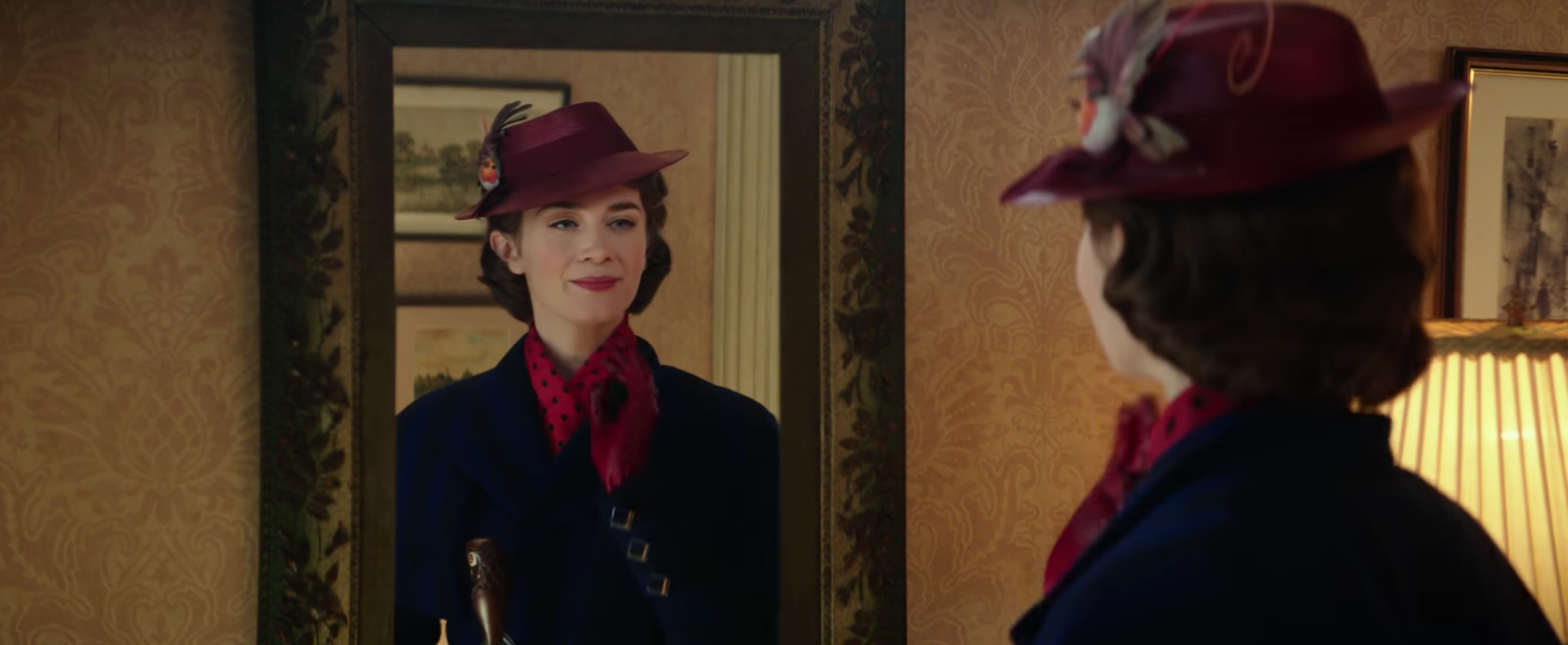 EMILY BLUNT'LI MARY POPPINS'TEN İLK FRAGMAN GELDİ