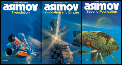 ISAAC ASIMOV'UN FOUNDATION ÜÇLEMESİ APPLE'LA TELEVİZYONA GELİYOR