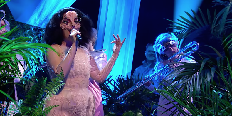 "Björk on ""Jools Holland"""