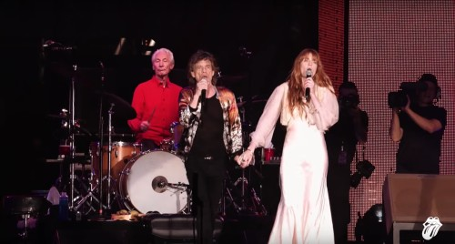 THE ROLLING STONES VE FLORENCE WELCH AYNI SAHNEDE