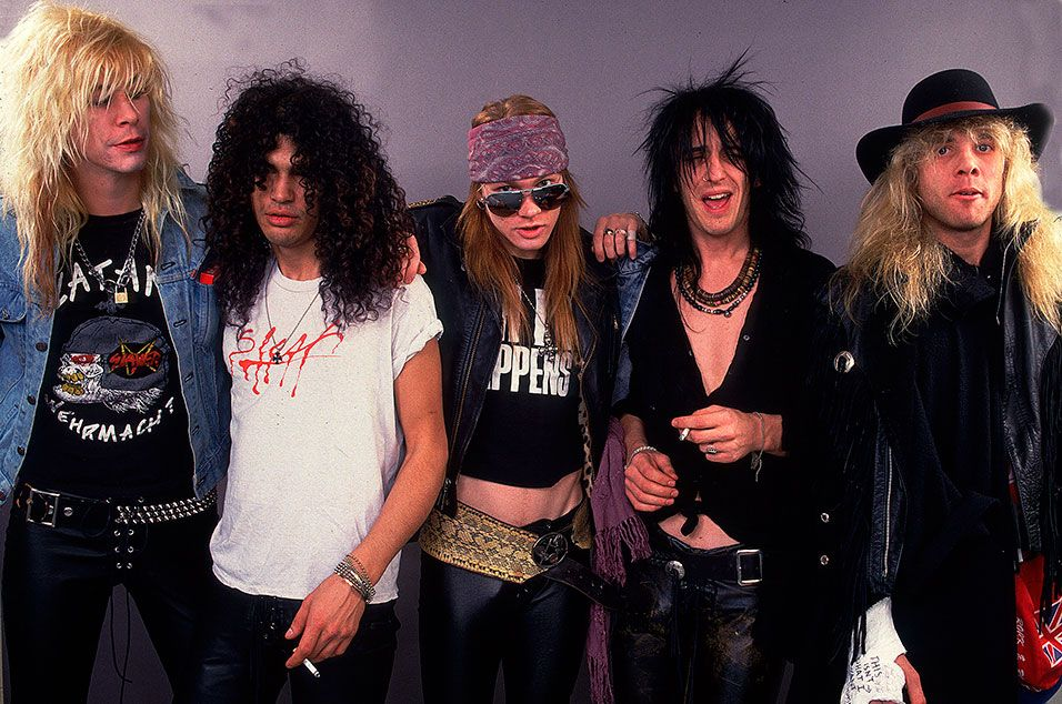 GUNS N' ROSES'DAN 4 CD VE 7 PLAKLIK DEVASA BOX SET