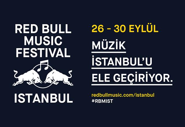 RED BULL MUSIC FESTIVAL 26-30 EYLÜL'DE İSTANBUL'DA
