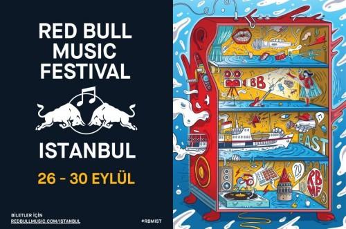 RED BULL MUSIC FESTIVAL ISTANBUL GÜMBÜR GÜMBÜR GELİYOR