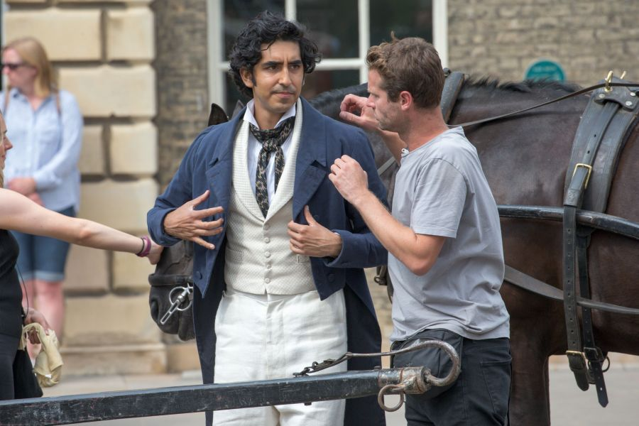 'The Personal History of David Copperfield' on set filming, King's Lynn, Norfolk, UK - 20 Jul 2018