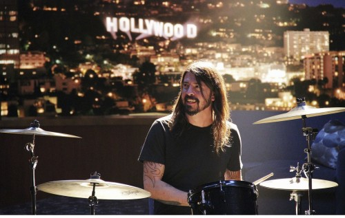 DAVE GROHL'DAN IN BLOOM PERFORMANSI