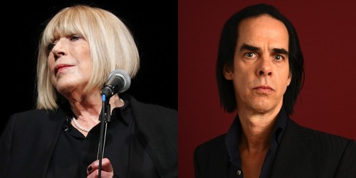 NICK CAVE VE MARIANNE FAITHFULL BİR ARADA
