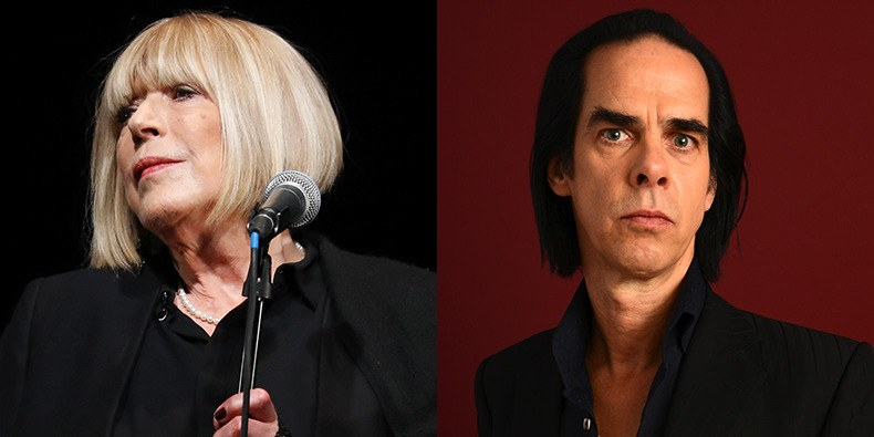 Marianne Faithfull and NIck Cave