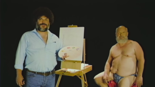 JACK BLACK BOB ROSS OLDU