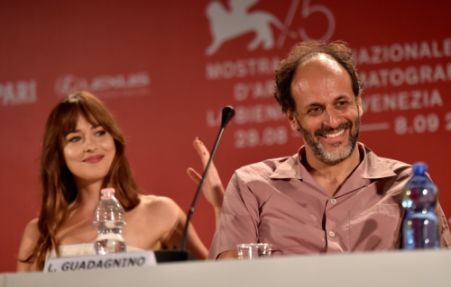 LUCA GUADAGNINO DAKOTA JOHNSON'I CALL ME BY YOUR NAME'E İSTİYOR