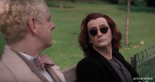 DAVID TENNANT VE MICHAEL SHEEN'Lİ GOOD OMENS'TAN İLK FRAGMAN