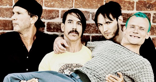 RED HOT CHILI PEPPERS'TAN JIMI HENDRIX COVER'I