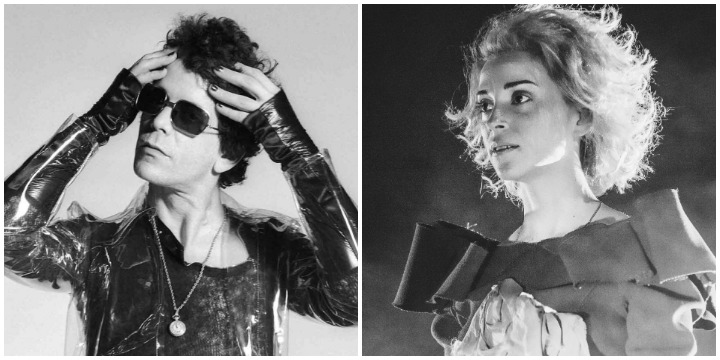 ST. VINCENT'TAN LOU REED COVER'I
