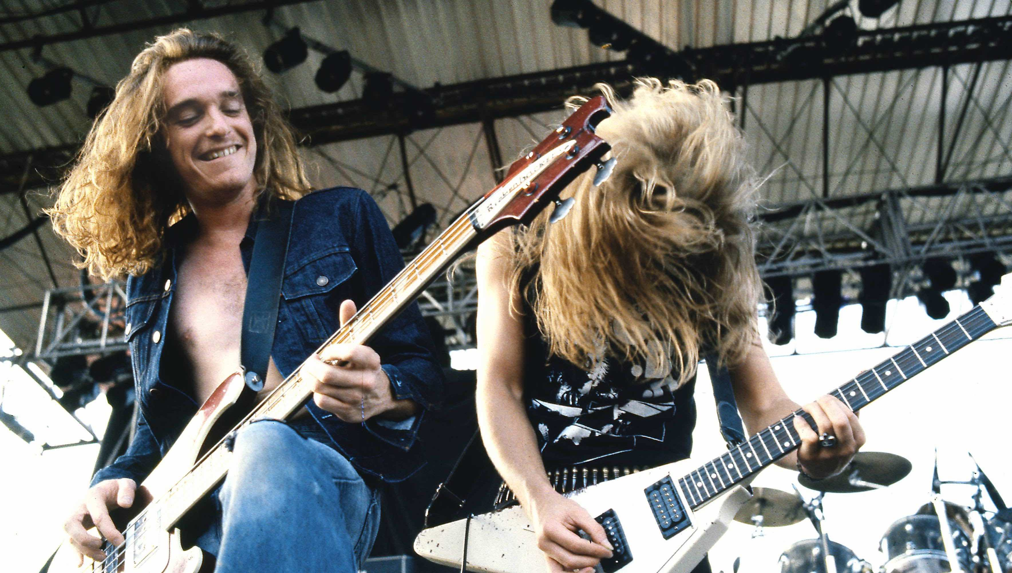 Photo of METALLICA and Cliff BURTON and James HETFIELD
