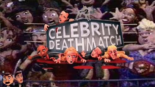 MTV'NİN CELEBRITY DEATHMATCH PROGRAMI GERİ DÖNÜYOR