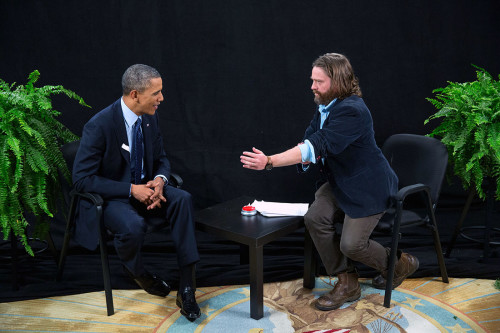 NETFLIX BETWEEN TWO FERNS'Ü FİLM YAPIYOR