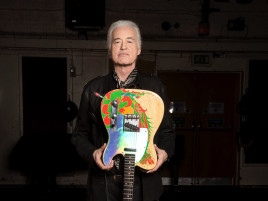 JIMMY PAGE'İN İKONİK GİTARI SATIŞA ÇIKIYOR