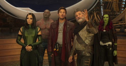GUARDIANS OF THE GALAXY JAMES GUNN'IN SENARYOSUNU KULLANACAK
