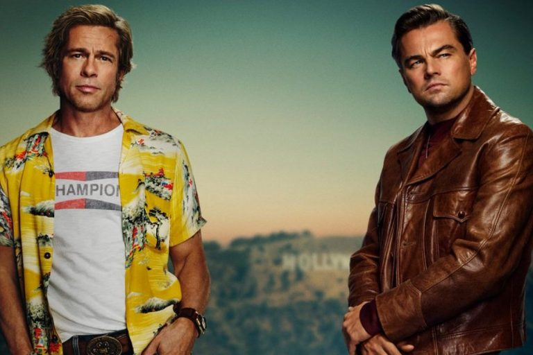 once upon a time in hollywood'dan poster paylaşıldı