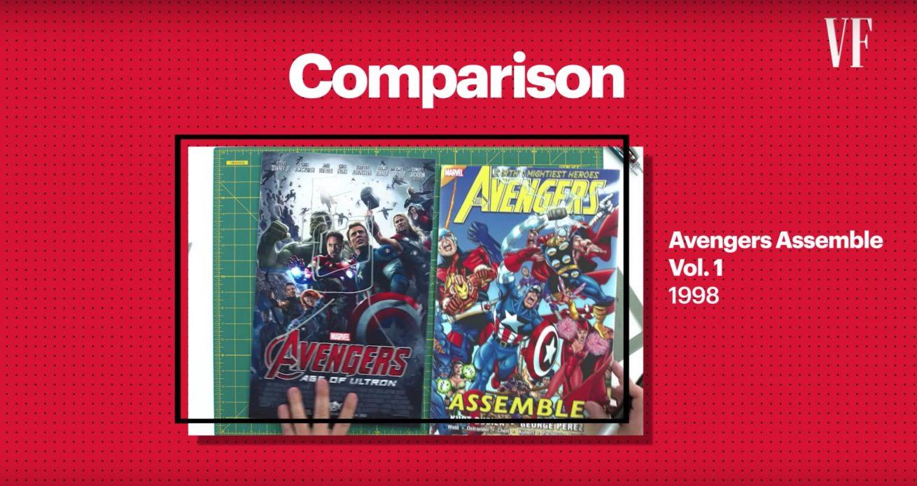 işin uzmanıyla marvel filmlerinin posterlerini inceliyoruz
