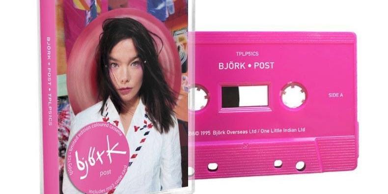björk albümleri kaset formatında yayınlanacak