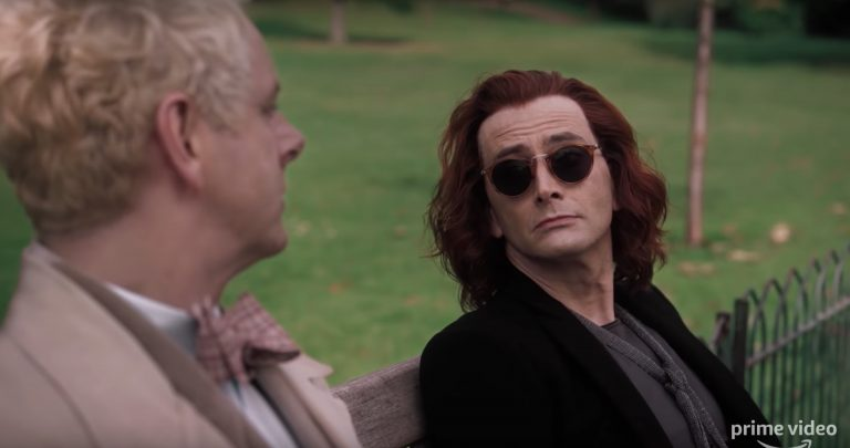 david tennant ve michael sheen'li good omens'tan ilk uzun fragman