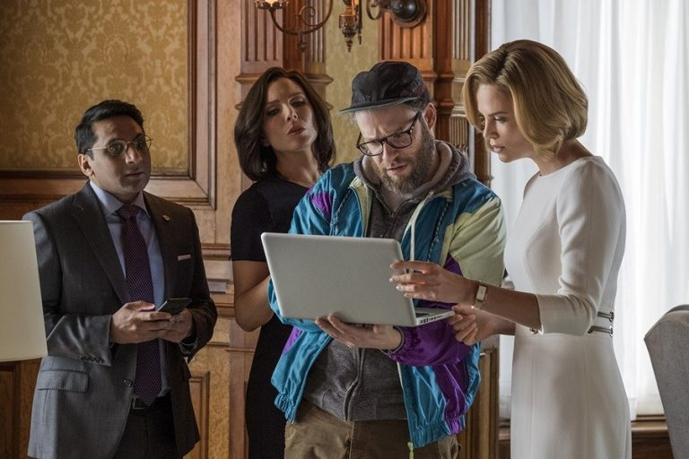 charlize theron ve seth rogen'li long shot'tan yeni fragman