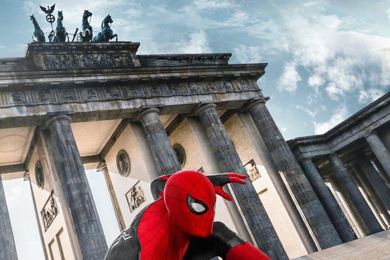 yeni spider-man: far from home posterleriyle erasmus yapıyoruz