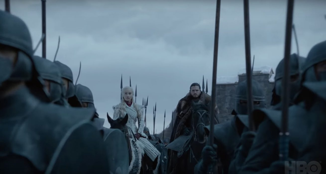 game of thrones'un final sezonudan mini teaser