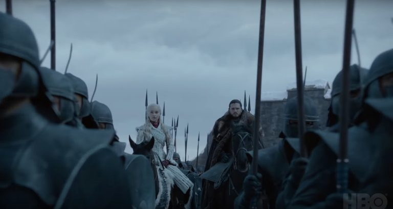 game of thrones'un final sezonudan mini teaser