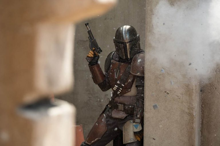 the mandalorian'dan ilk görseller