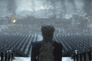game of thrones'un final bölümünden iki görsel