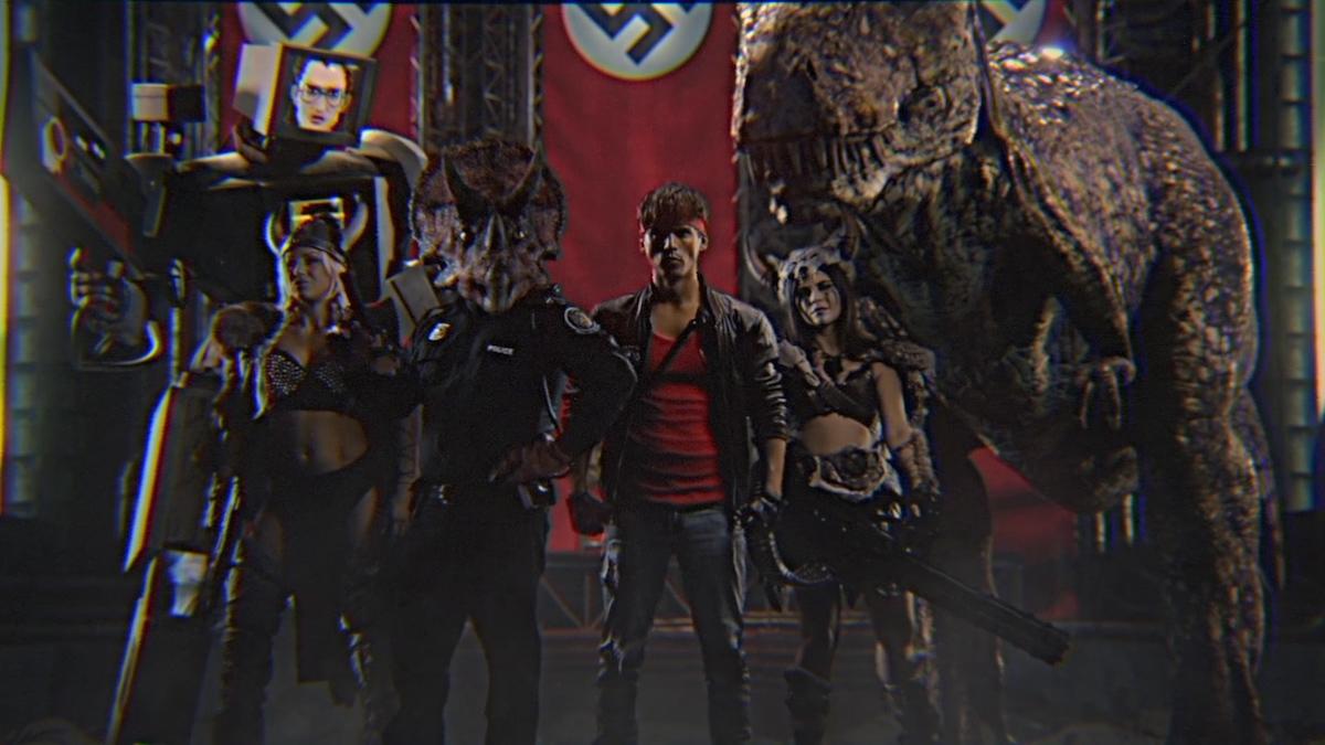 kung fury 2'de artık tüm şartlar müsait, çekimler başlıyor