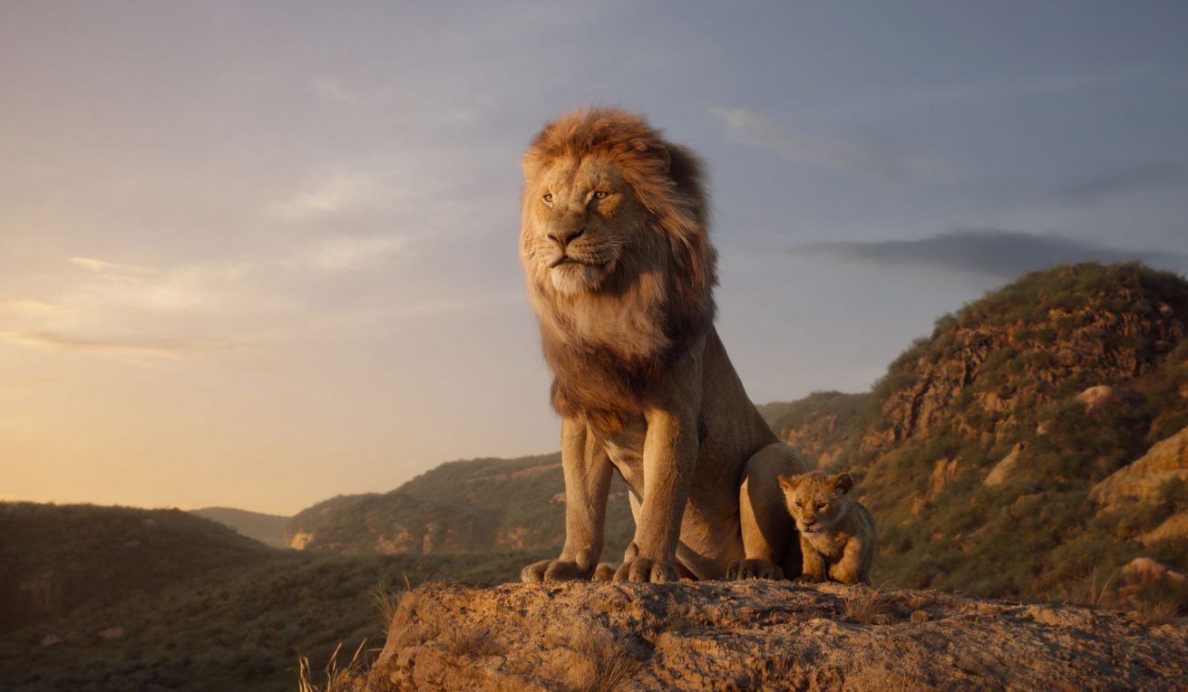 the lion king'den karakter posterleri