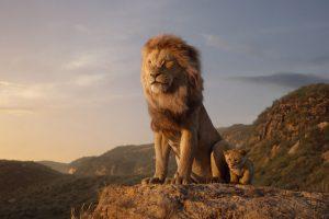 the lion king'den karakter posterleri