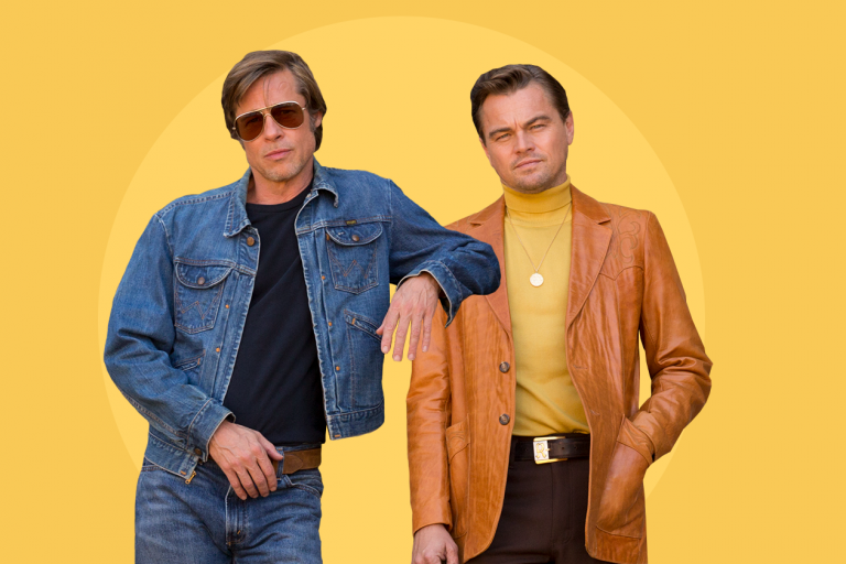 tarantino'nun once upon a time in hollywood'undan yeni görsel