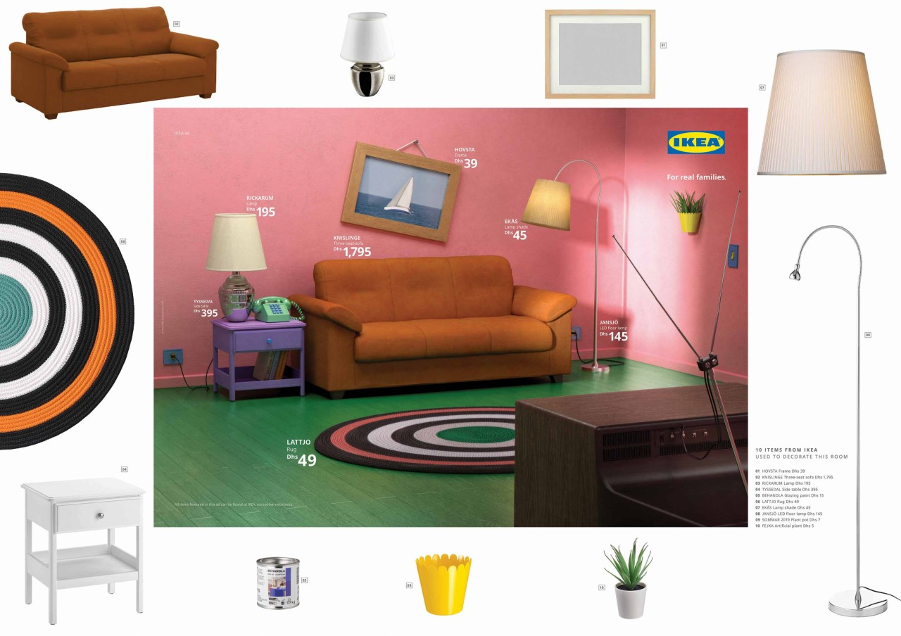 ikea stranger things, friends ve the simpsons odalarını yeniden yarattı