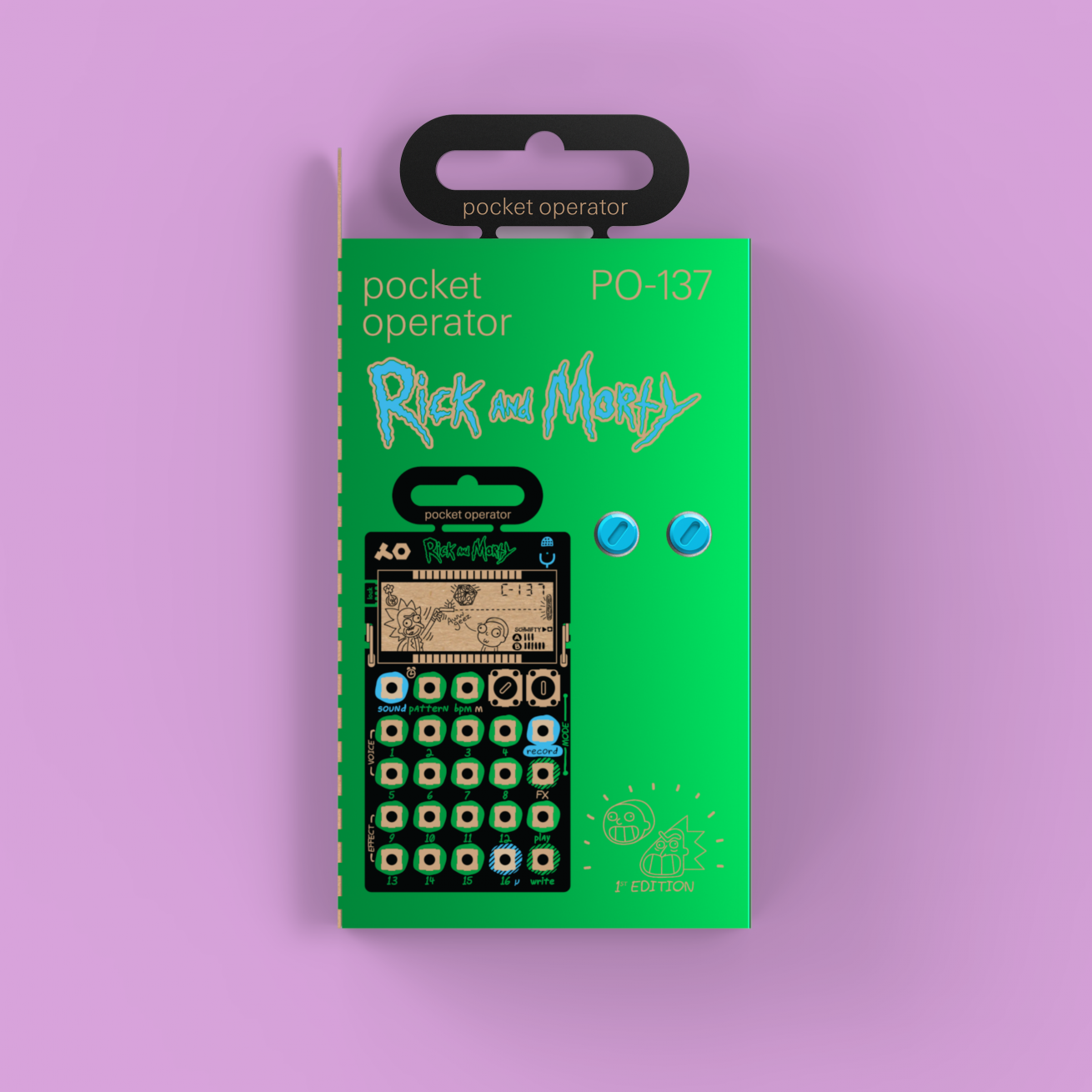 rick and morty temalı synthesizer almak isteyen?