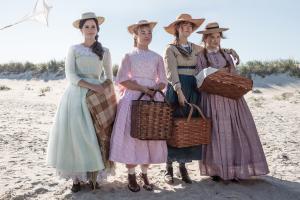 greta gerwig'in all-star kadrolu yeni filmi little women'dan ilk kareler